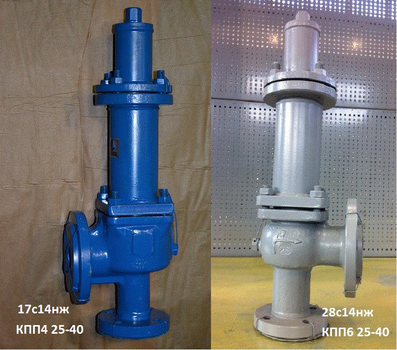 Клапан предохранительный СППК4-50-16нж
